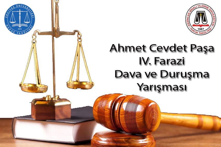 Ahmet Cevdet Paşa Farazi Dava ve Duruşma Yarışmasında  Fakültemiz Öğrencileri İkinci Olmuştur